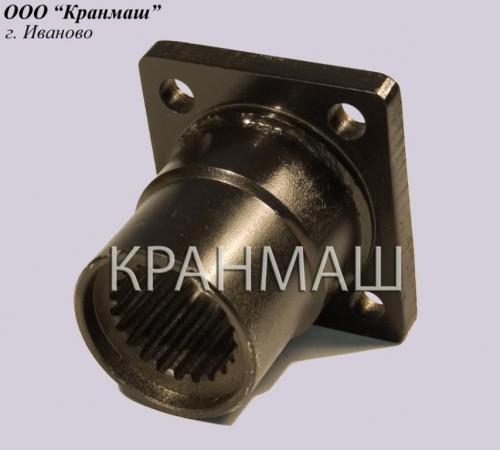 Фланец (на гидромотор) КС-3577-2.14.027